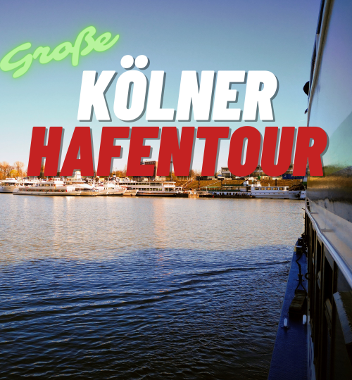 Große Kölner Hafentour